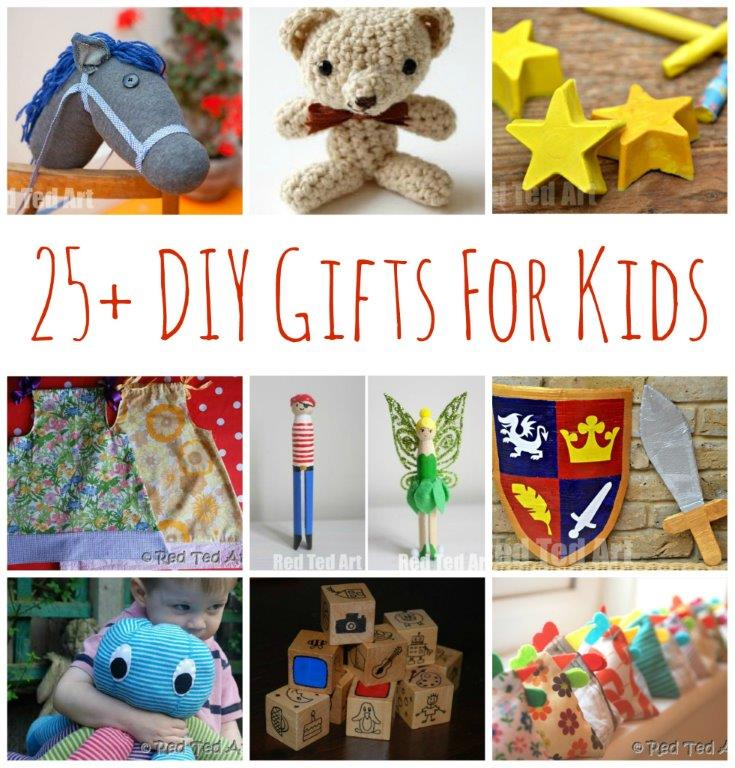 25 diy gifts for kids make your gifts special red for Easy diy gifts for boys