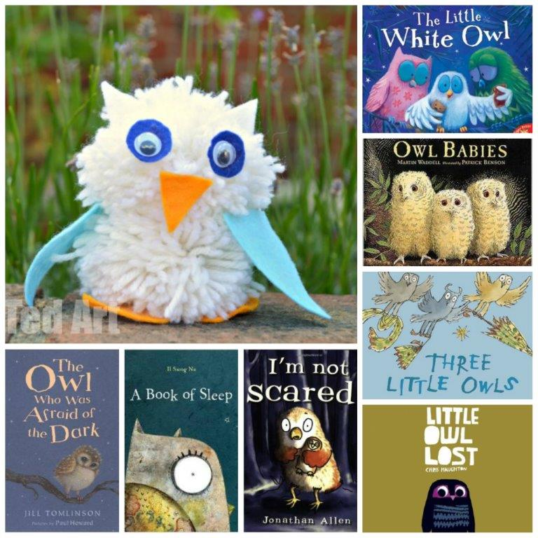 Owl Books and Owl Craft (3)