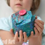 DIY Gift Box for Kids (Recycled Plastic Bottle)