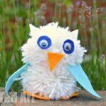 Pom Pom Owl Craft & 10 Gorgeous Owl Books