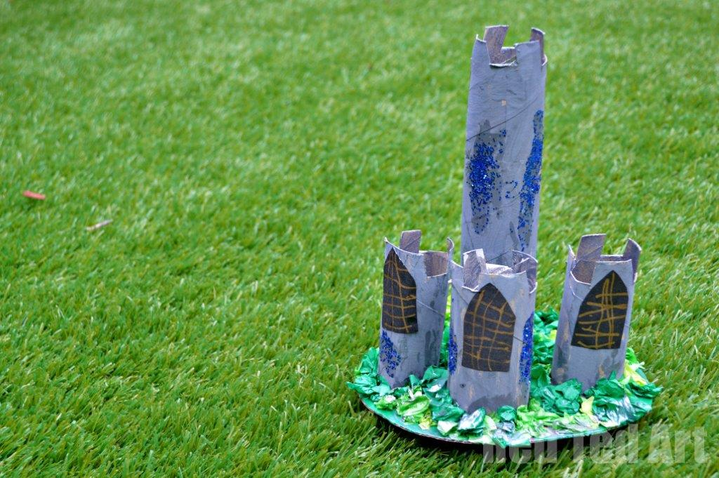 Fairy Tale Craft – TP Roll Castle