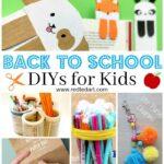Back to School DIY Ideas – Stationery Crafts