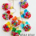 pompom fairy garland raisinguprubies.com