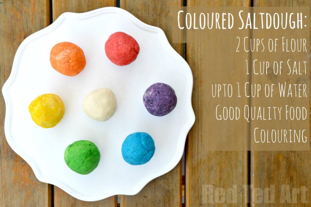 Colour Saltdough Recipe