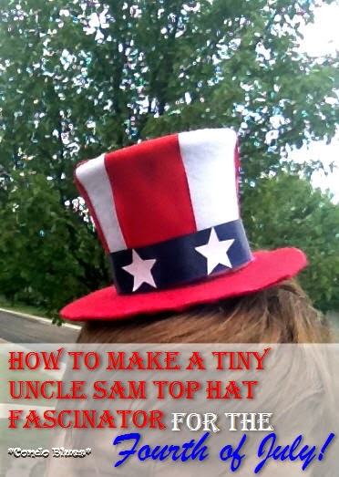 How to Make an Uncle Sam Fascinator for the Fourth of July