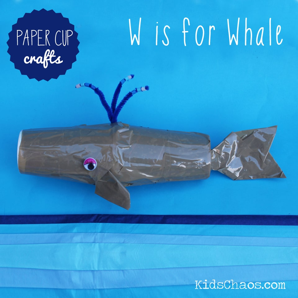 25 paper cup crafts red ted arts blog paper cups crafts kids chaos whale jeuxipadfo Image collections