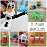 10 Rainbow Loom Charms