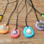 Easy Salt Dough Keepsakes – Shell Pendant