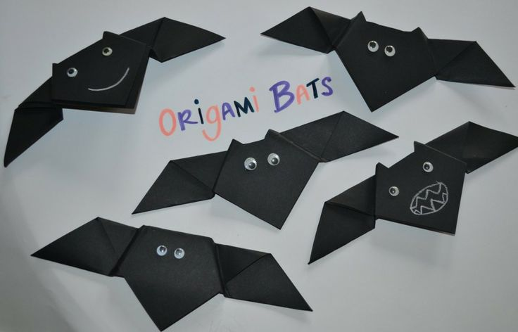 Origami Bat How To