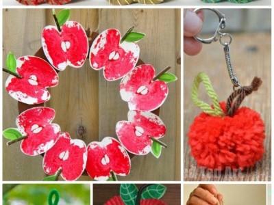 20 Apple Craft Ideas