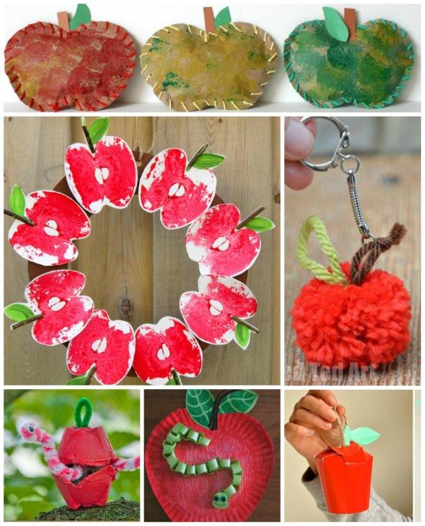 20 Apple Crafts for Fall