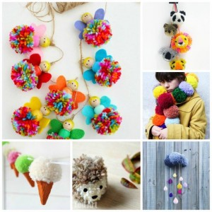 How to make a cute and easy pom pom chick for spring