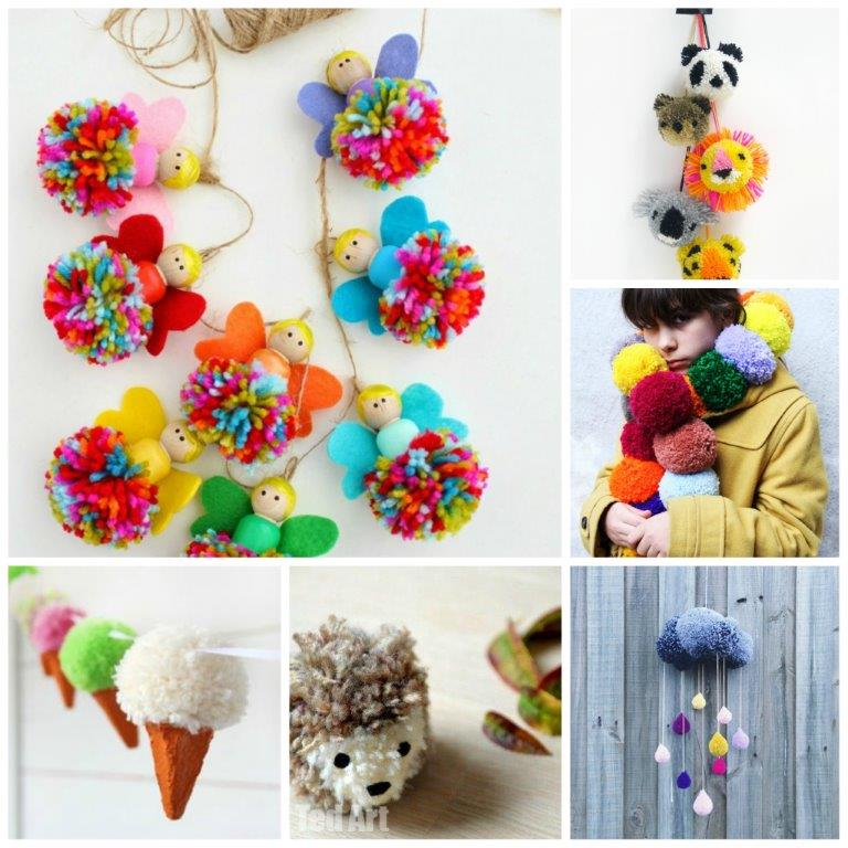 Fun Pom Pom DIY ideas