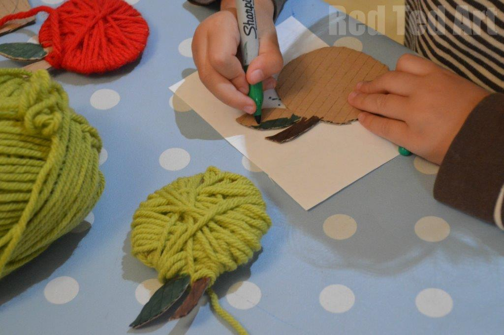 Apple Crafts for Preschoolers