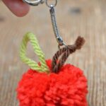 Apple Crafts – Apple Pom Poms!!!