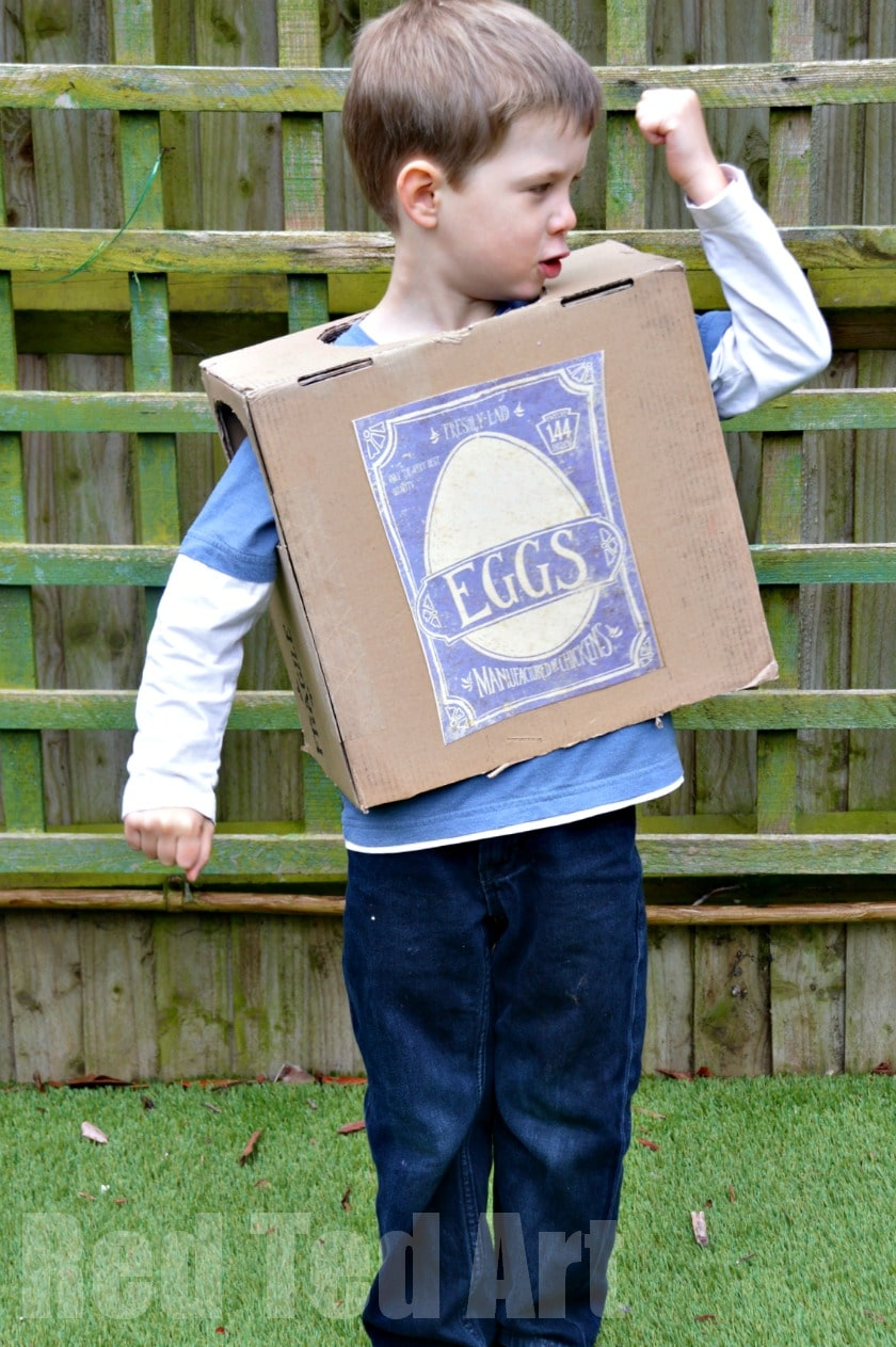 Boxtrolls Crafts – Make a Boxtroll Costume
