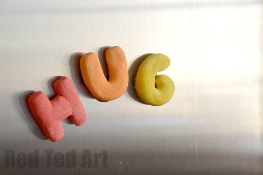 salt dough ideas - fridge magnets
