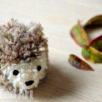 Hedgehog Pom Pom Craft