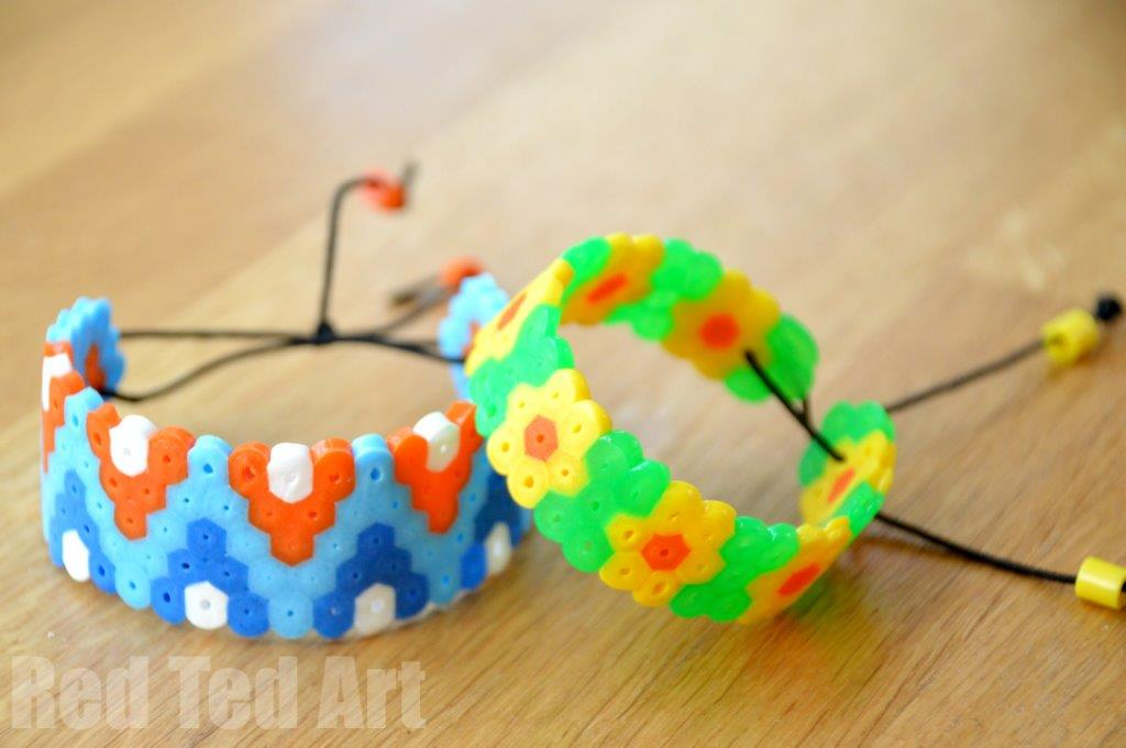 How To Make Perler Bead Bracelets - Great Gifts for Kids to Make