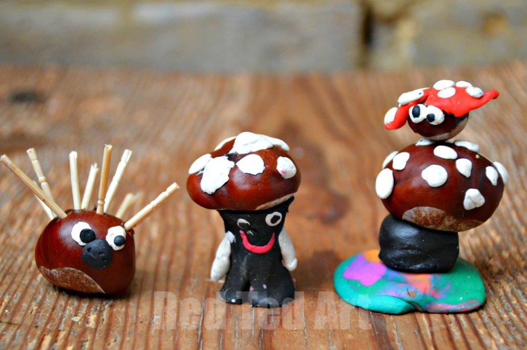 15 Conkers Crafts Aka Chestnut Or Buckeye Crafts For Fall