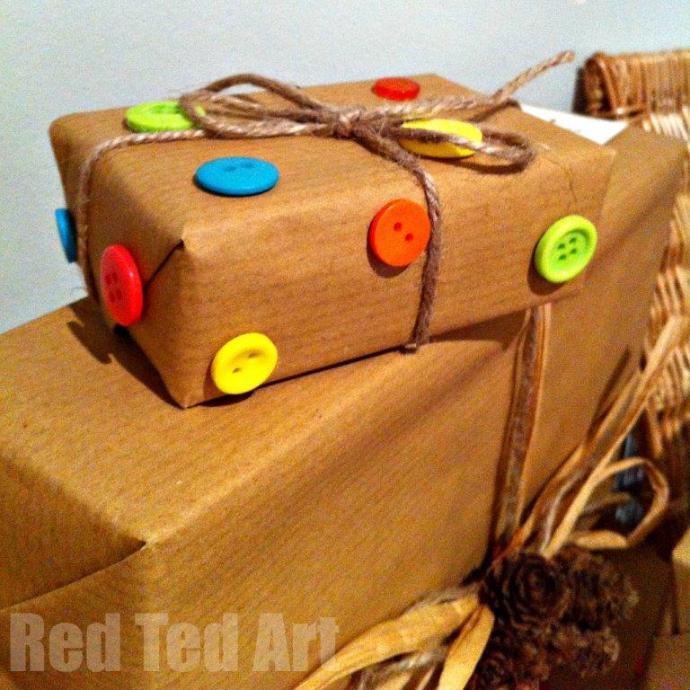 Last minute gift wrap ideas
