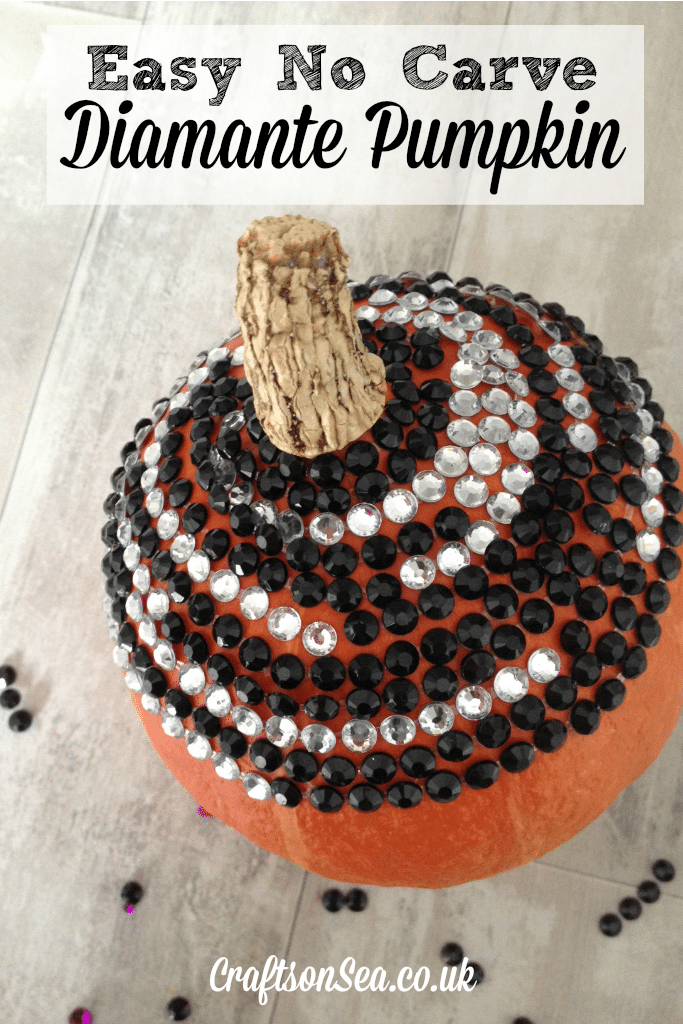 No-Carve-Diamante-Pumpkin