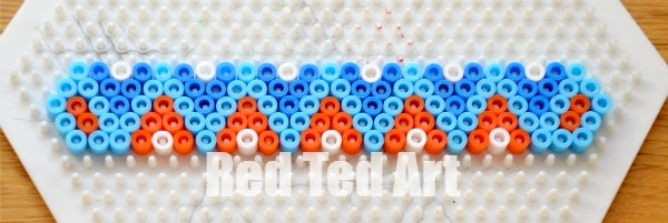 Hama Bead Perler Bead Bracelets Red Ted Art S Blog