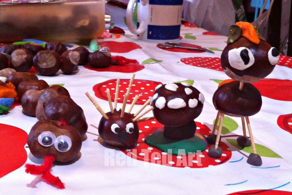 Pip Squeak's Chestnut Crafts Photo