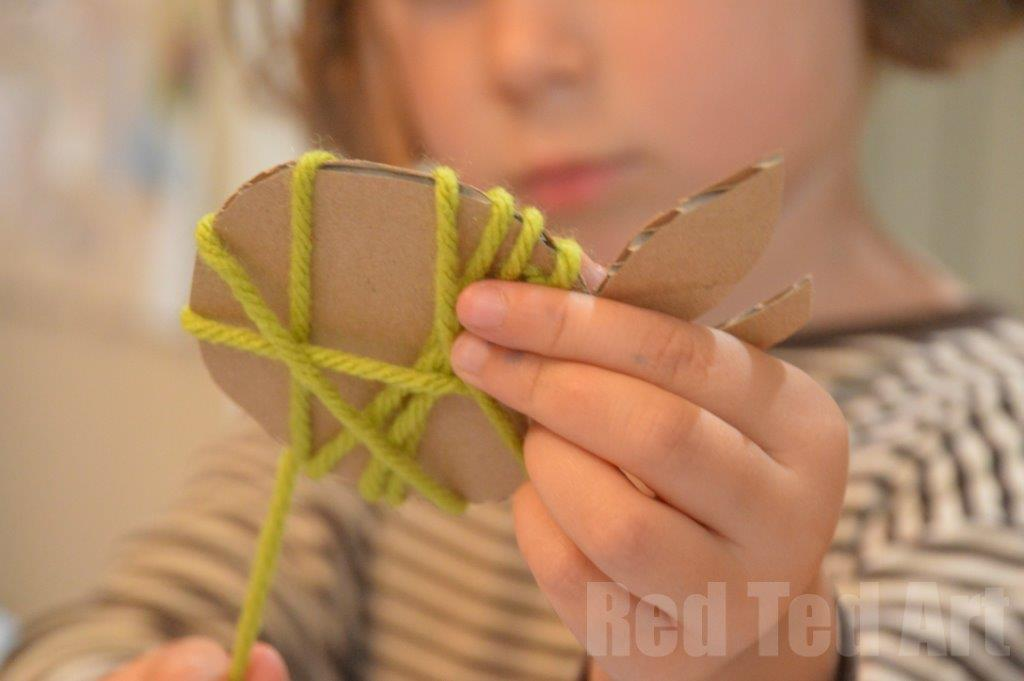 Yarn Wrapped Apple Crafts