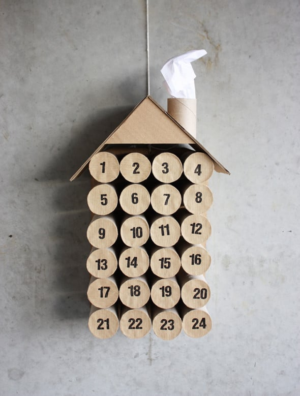 Advent Calendar Ideas 12 Christmas TP Roll Crafts We Love And These Toilet