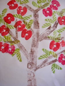 apple print ideas