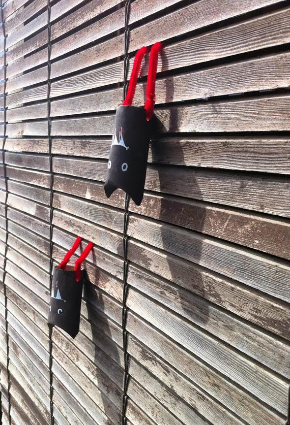 bat crafts for halloween cute