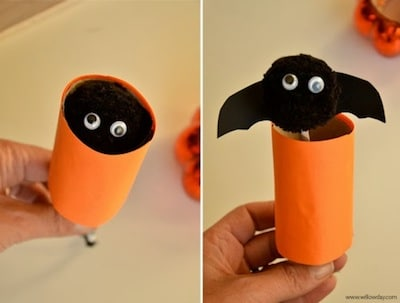cute bat crafts for halloween