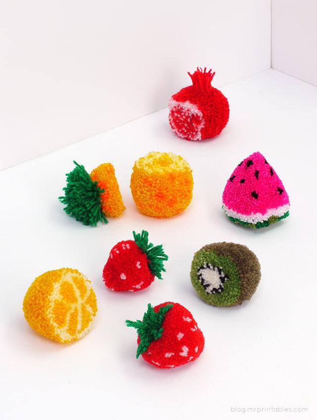 25 Pom Crafts To Make You Crazy