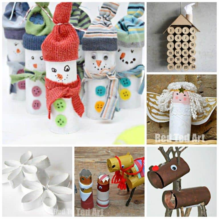 12 Toilet Paper Roll Christmas Crafts