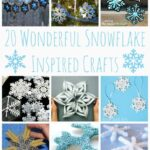20 Snowflake Craft Ideas
