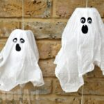 DIY Ghost MINI Pinatas - such fun