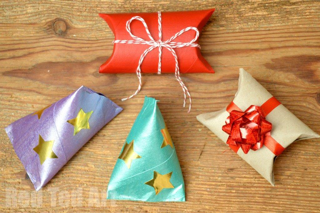 12 toilet paper roll christmas crafts red ted art s blog