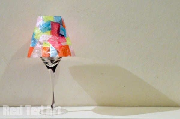 Gifts kids can make kid art lamps red ted arts blog eric carle crafts lampshade mozeypictures Choice Image