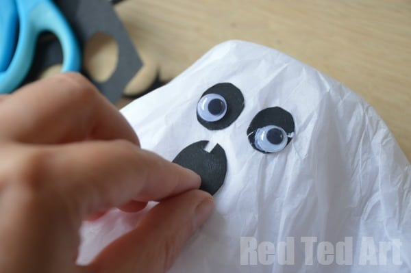 Ghost Pinata - Made from Paper Cups, so easy