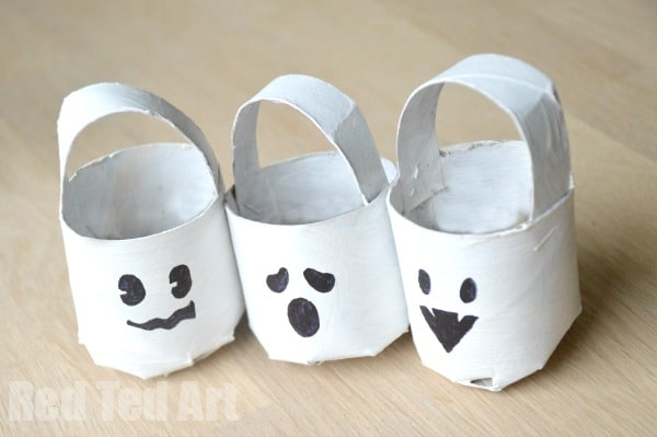 Halloween TP Roll Ghost Craft
