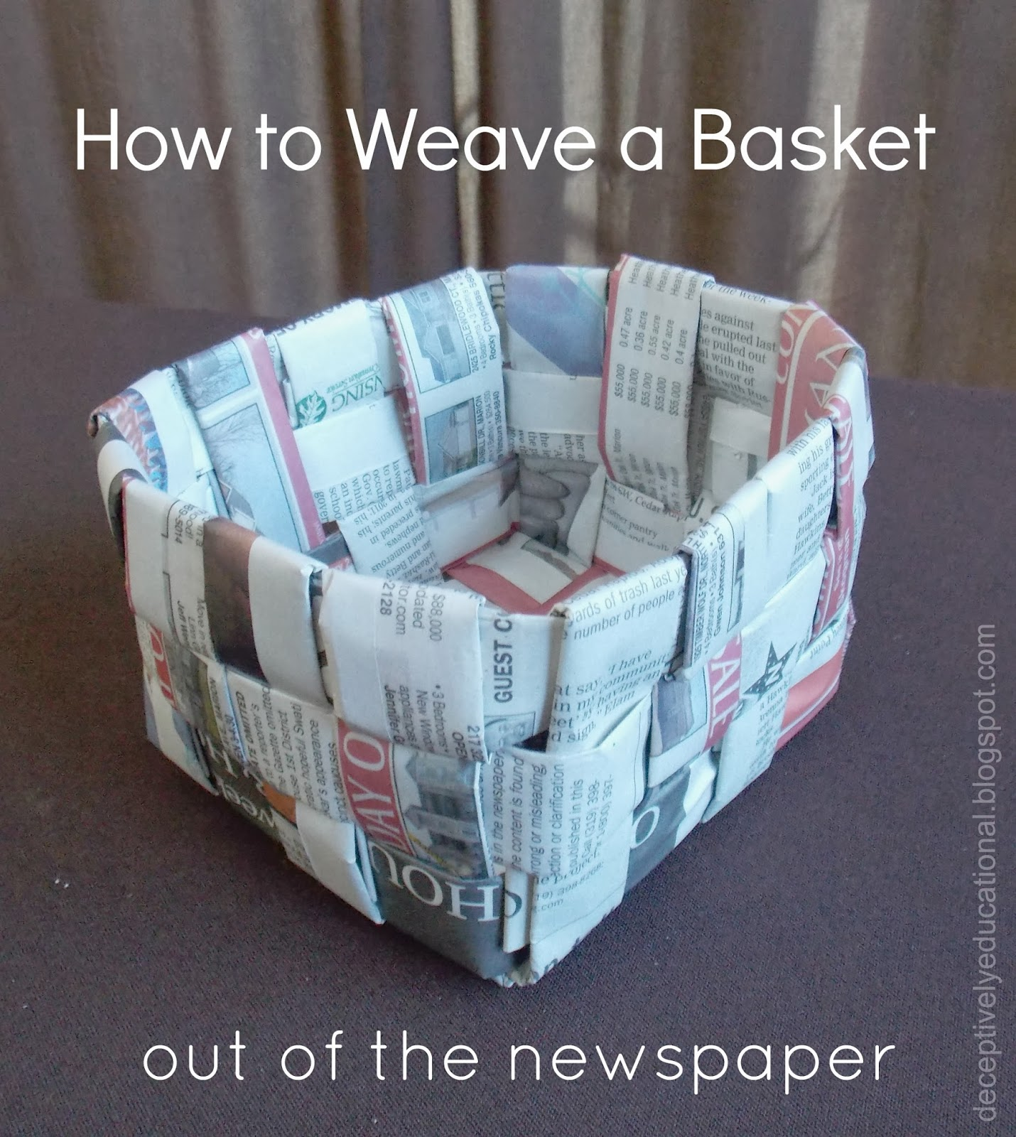 25 Newspaper Craft Ideas Red Ted Arts Blog