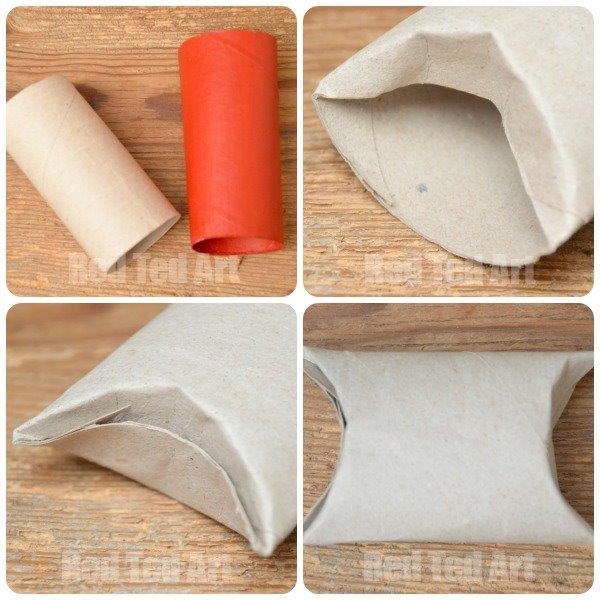 How to make a TP Roll Gift Box