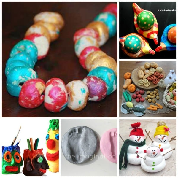 30+ Salt Dough Crafts for Kids