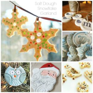 Salt Dough Crafts - Christmas Ornaments