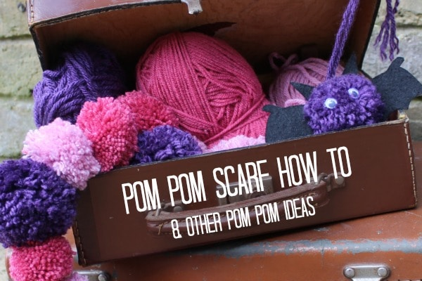 pom pom scarf how to and other ideas