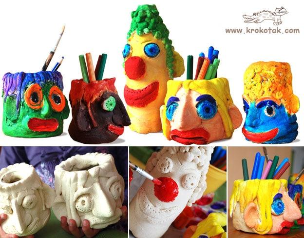 30 salt dough crafts for kids red ted art 39 s blog for Salt dough crafts figures