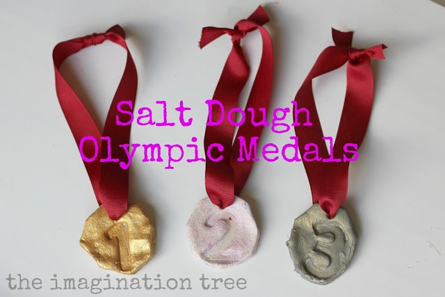 salt+dough+olympic+medals