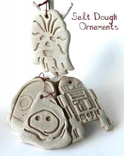 salt dough ornaments star wars