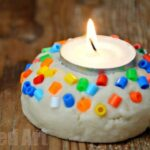 Salt Dough Votive – Quick and Easy!